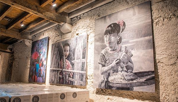 Chai d'Oeuvre at Brescou : Khin Zaw Latt and Emmanuel Flipo