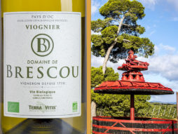 viognier organic wine pays doc