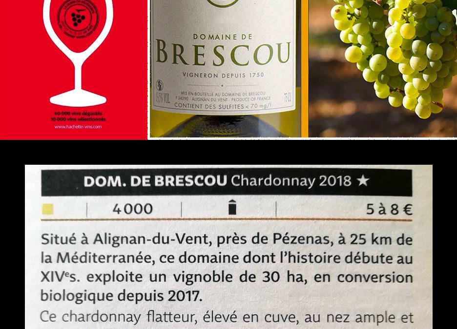 Guide Hachette 2020 Le chardonnay dans les étoiles