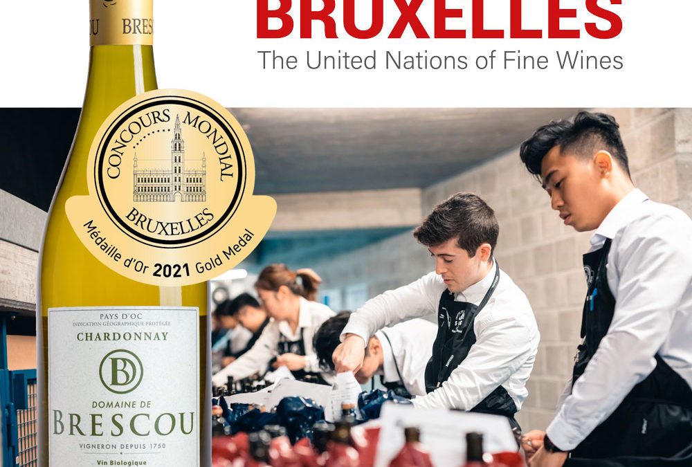 concours mondial bruxelle gold medal chardonnay